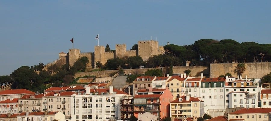 Sehenswürdigkeit: Castelo de São Jorge in Lissabon