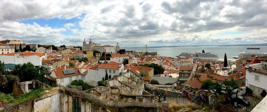 Lissabon: Miradouro do Recolhimento