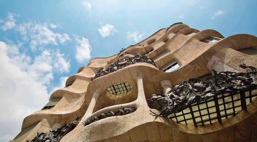 Barcelona Casa Mila von Antoni Gaudí