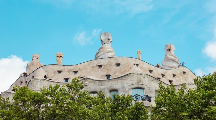 Barcelona Pass: Casa Milá von Gaudí