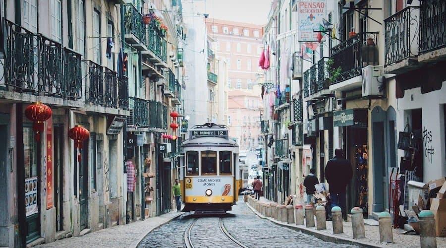 Lissabon: öffentlicher Nahverkehr