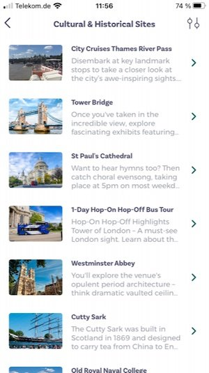 London Explorer Pass Smartphone App