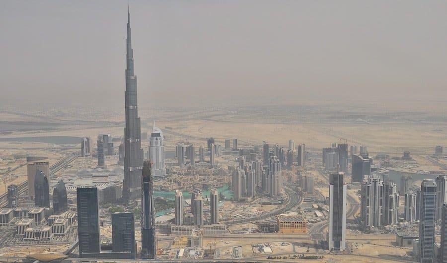 Burj Khalifa Panorama