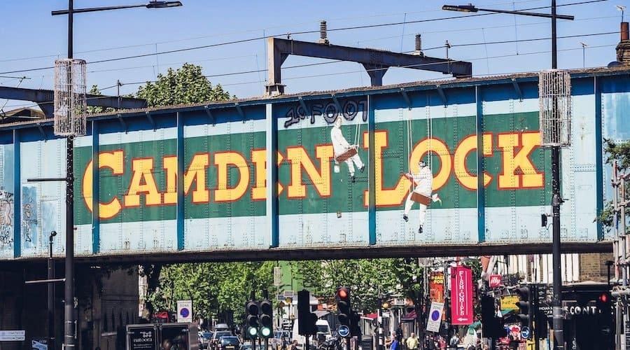 Sehenswürdigkeit: Camden Market in London