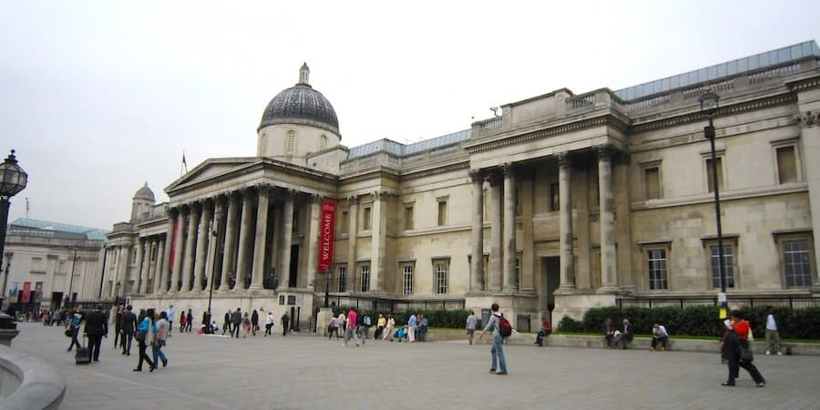 London Sehenswürdigkeit: National Gallery