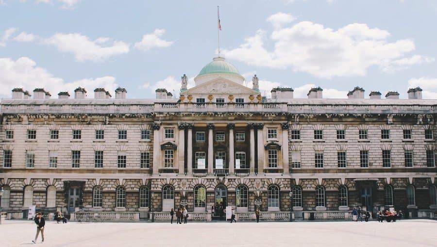 Sehenswürdigkeit: Somerset House in London
