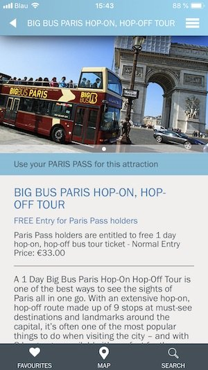 Paris Pass App