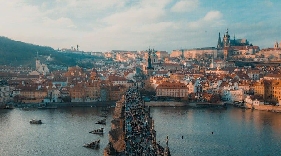Prag Card: Aussicht von der Karlsbrücke