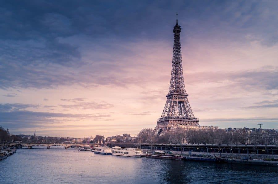 Bootsfahrt auf der Seine (Eiffelturm)