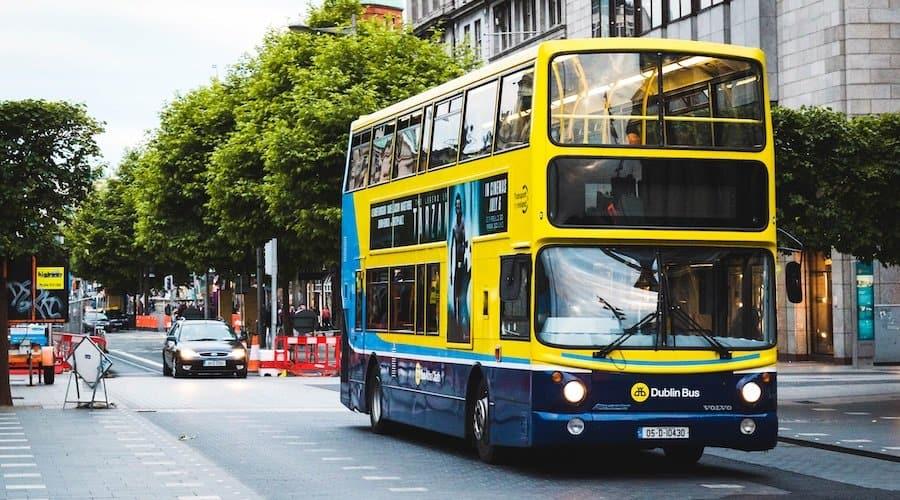 Dublin Bus mit der DoDublin Card