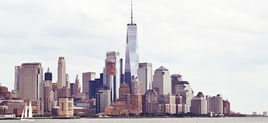 New York Skyline vom Wasser