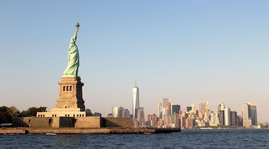 Freiheitsstatue mit New York Sightseeing Pass