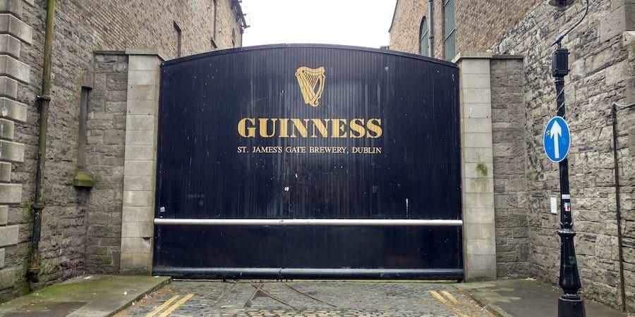 Anne Street in Dublin