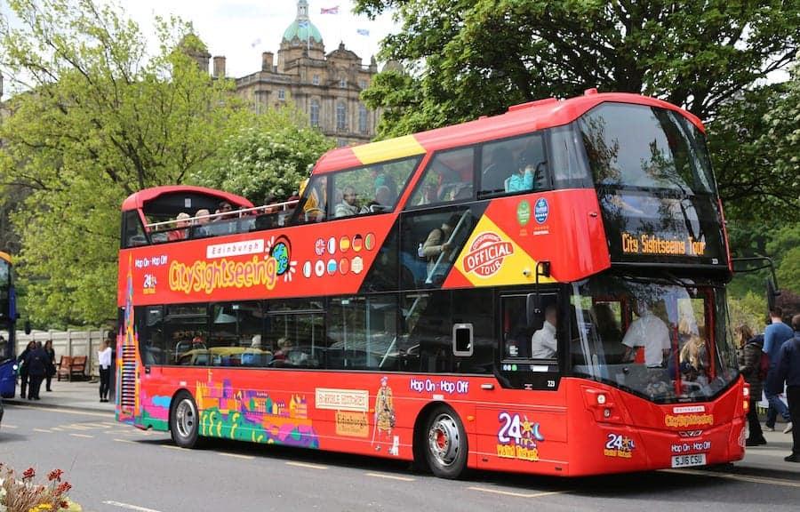 Edinburgh City Sightseeing Tour