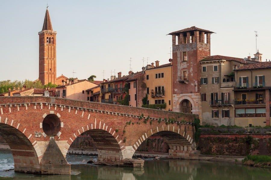 Puente Pietra in Verona