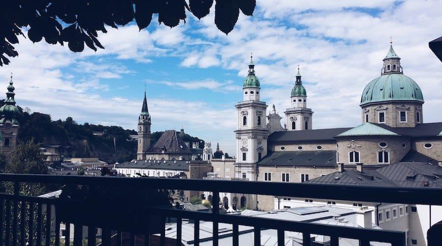 Salzburger Dom mit der City Card