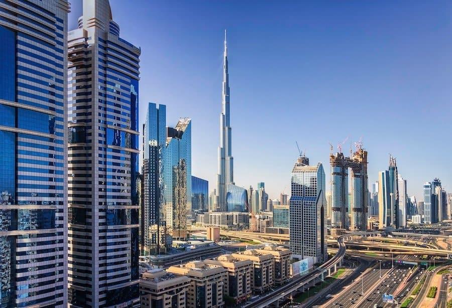 Dubai im Sightseeing-Bus