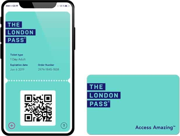 London Pass in der App