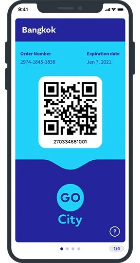 Go City Bangkok Pass App